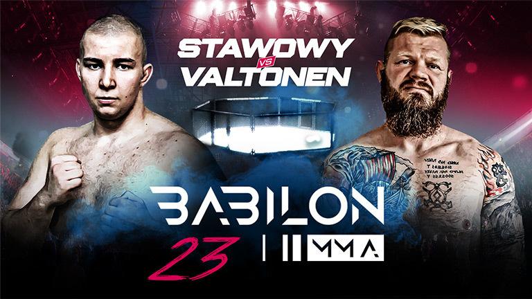 Babilon MMA / ważenie przed galą Babilon MMA 23 (transmisja bezpłatna)